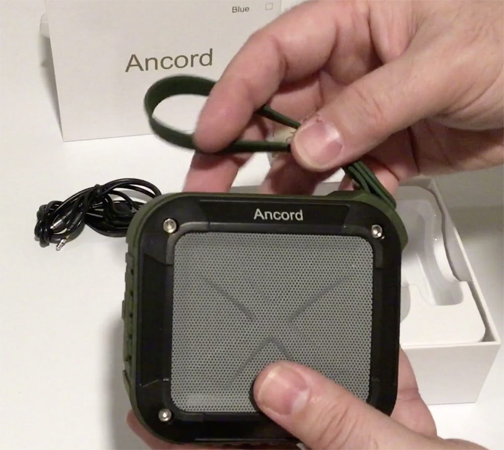 Ancord Wireless Bluetooth Outdoor Portable Speaker Review - Hot