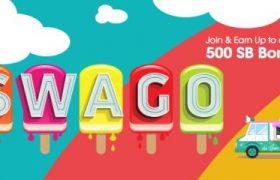 Swagbucks July Swago - Join and Earn up to 500 SB Bonus
