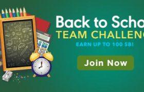 Swagbucks Back To School Team Challenge