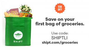 $10 Bonus From Shipt Grocery Delivery Service