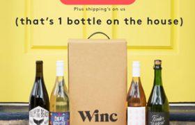 Winc Wine Promotion