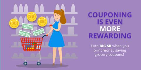 Couponing is even more rewarding with Swagbucks