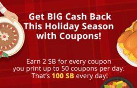 Get Big Cash Back At Swagbucks
