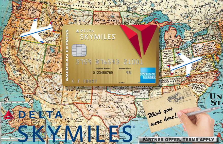 Delta Skymiles 60k/70k Mile + $50/$100 + 10k MQM Bonus Offer