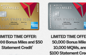 Delta Skymiles Card By American Express - Limited Time Offer
