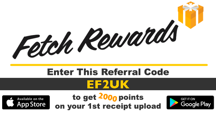 Fetch Rewards 3000 Points Sign Up Bonus - Hot Coupon Offers